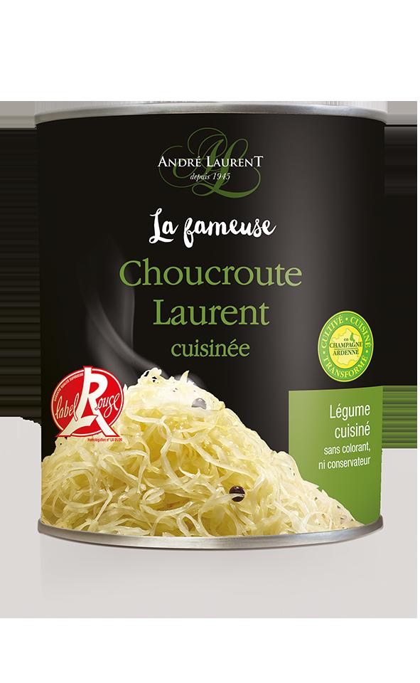 La Fameuse Choucroute Laurent Cuisinée