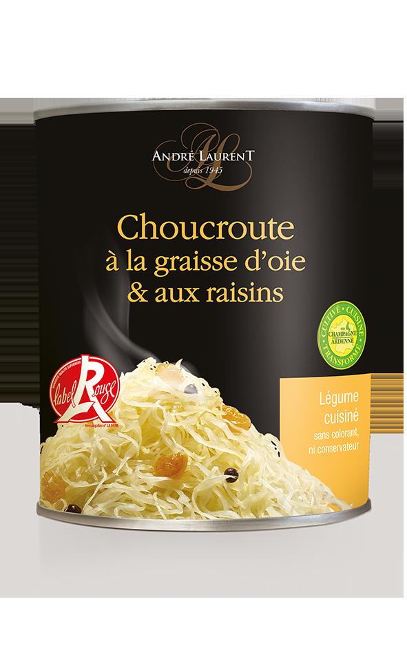 Choucroute à La Graisse D'oie Et Aux Raisins