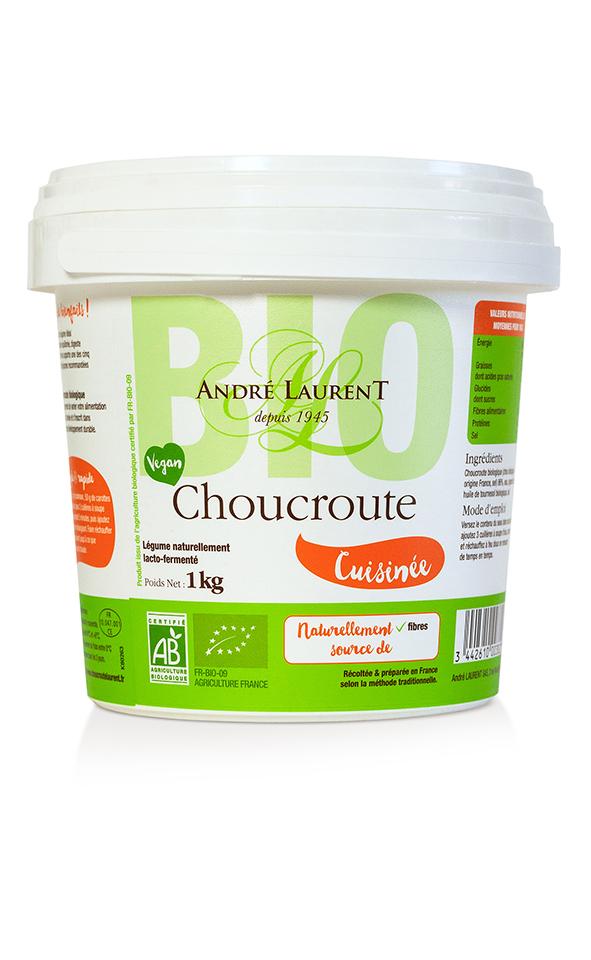 Choucroute Cuisinée Bio (Seau)