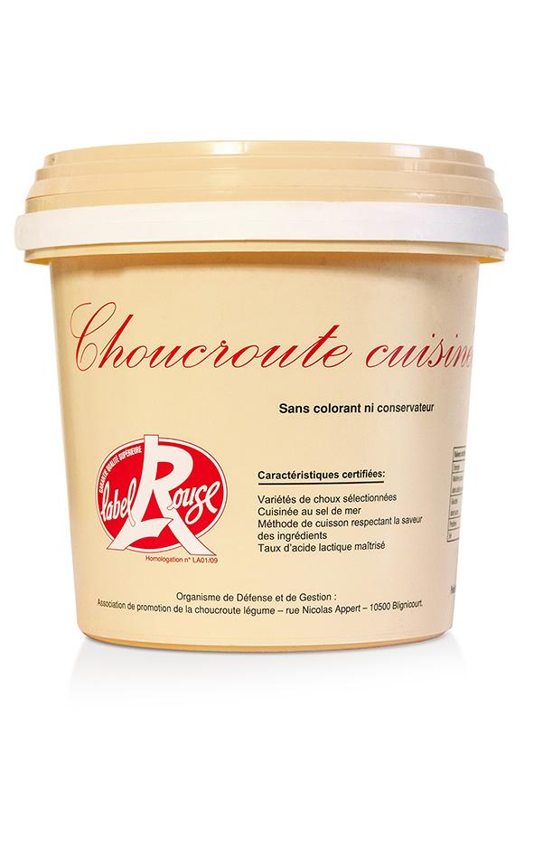 Choucroute Cuisinée Label Rouge