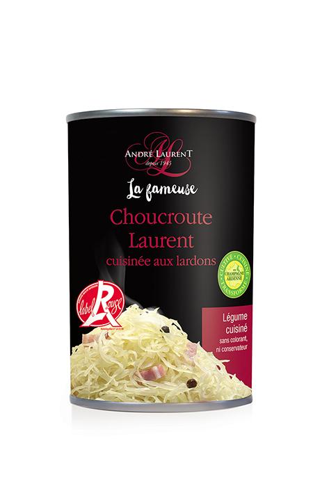 La Fameuse Choucroute Laurent cuisinée aux lardons