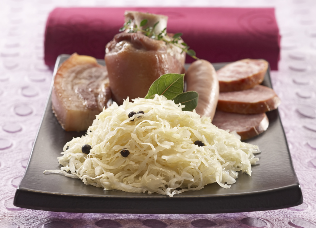 Choucroute garnie traditionnelle